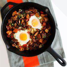 Smoked Gouda Breakfast Skillet  |  Devour