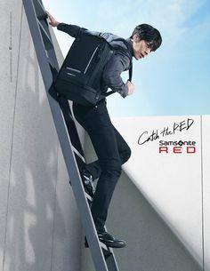 Kim Woo Bin has become the model for bag brand, 'Samsonite Red,' starting this year!'Samsonite Red' shared pictures on January 4 along with the words … Kim Woo Bin, Lee Min Ho, Red Pictures, Man Crush Everyday, Acting Skills, Drama Korea, Korean Drama, Korean Entertainment, Hyun Bin