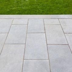 Image result for rectangle bluestone paver patio