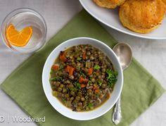 Grandma's Homemade Lentil Soup - Chez Us