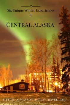 Central Alaska is a winter wonderland worth visiting during the coldest months. It has endless list of activities to offer.