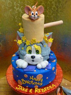 Tom and Jerry - Cake by Svetlana