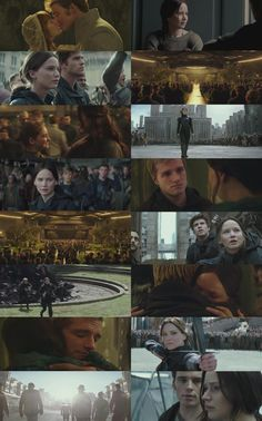 New trailer for Mockingjay Part 2!!! Annie and Finnick!!!!!!!!! Hate to have him die. :(