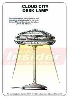 Cloud City Desk Lamp