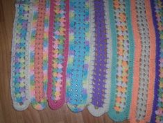 Bev's Mile-a minute afghan! (Or mile and HOUR!) ANOTHER ONE TO MAKE UP FOR THE BAD PIN 2-20-15