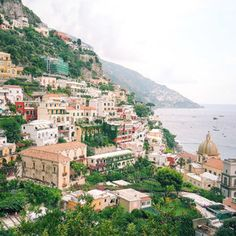 One of the many beautiful view points in Positano, Amalfi Coast, Italy