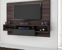 70 Rustic Tv Wall Design Ideas For Home 14 - homydezign Tv Cabinet Design, Tv Wall Design, Tv Unit Design, Tv Unit Decor, Tv Wall Decor, Tv Feature Wall, Tv Wanddekor, Mdf 15mm, Modern Tv Units