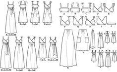 DIY Clothing & Tutorials: Amandas Adventures in Sewing: NewLook 6774  Yellow linen dress