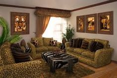 Image result for living rooms in wild colors