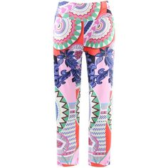 Fashionable Elastic Waist Printed Loose Fitting Women s Exumas Pants (€10) ❤ liked on Polyvore featuring pants, cut loose pants, stretch waistband pants, elastic waistband pants, elasticated waist trousers and stretch waist pants