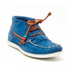 Dolfie - Dolfie Landom - Chaussures montantes en cuir - bleu - 1777449