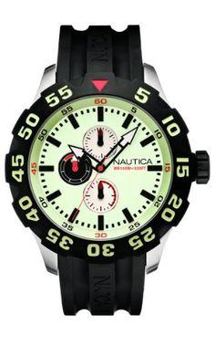 Nautica Men's N16509G BFD 100 Multifunction Luminous Dial Watch NAUTICA. Save 36 Off!. $105.00