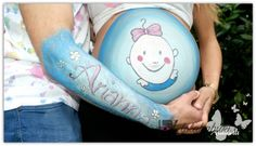 BELLY PAINTING OLATZ Lola Kabuki  #painting #belly #pregnancy #pinturas #embarazo