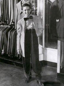 1940's zoot or zazou lifestyle