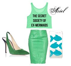 """""""Modern Day Ariel"""" by minnie-neve on Polyvore"""