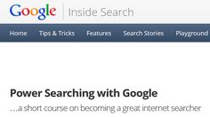 Sign Up for Google's Power Searching Online Course to Boost Your Google-Fu