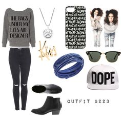 """""""outfit &223"""" by danielacarrasco467 on Polyvore"""