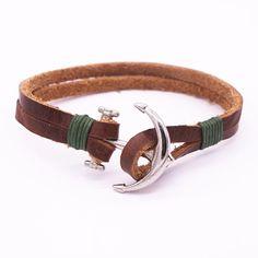 Viking Genuine Leather Bracelets For Men