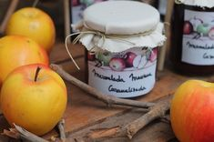 CAKES para ti: MERMELADA DE MANZANA CARAMELIZADA Pots, November, Apple, Fruit, Desserts, Flan, Html, Chilli Jam, Apple Jam