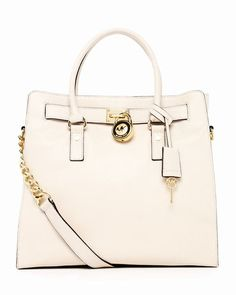 Michael Kors Hamilton Große Einkaufstasche Vanille online shop #womensbags#jewellery|#jewellerydesign}