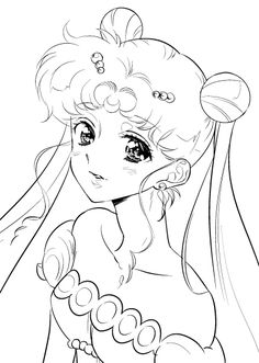 Sailor Moon Manga, Sailor Moon Fan Art, Sailor Moons, Manga Coloring Book, Coloring Books, Sailor Moon Tattoos, Moon Sketches, Sailor Moon Background, Sailor Moon Coloring Pages