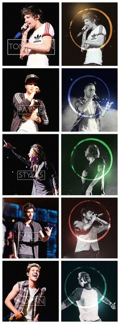 One Direction - Band : Harry, Niall, Liam, Louis, Zayn, Styles, Horan, Payne, Tomlinson, Malik, whatever, they'll always be 5 singing idiots...!