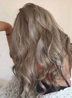 25 super ideas for hair color ash blonde dark Dark Ash Blonde Hair, Ash Hair, Silver Blonde, Blonde Brunette, Hair Color And Cut, Hair Colour, Level 8 Hair Color, Hair Day, Dark Blonde