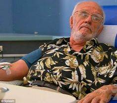 'Man with the golden arm' saves 2million babies in half a century of donating rare type of blood.   Harrison, 74, has an antibody in his plasma that stops babies dying from Rhesus disease, a form of severe anaemia. He has enabled countless mothers to give birth to healthy babies, including his own daughter, Tracey, who had a healthy son thanks to her father's blood.