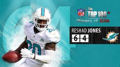 #64 Reshad Jones (S, Dolphins) | Top 100 NFL Players of 2016