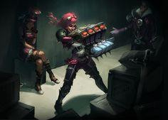 Digi-Art Throwdown Contest   League of Legends