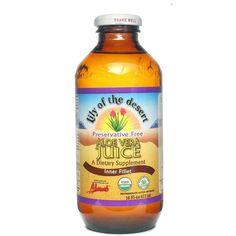 Preservative Free Inner Fillet Aloe Vera Juice