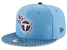 Tennessee Titans New Era 2017 Official NFL Sideline 9FIFTY Snapback Cap