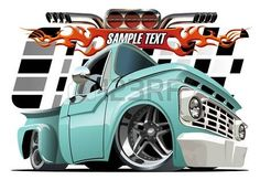 Buy Cartoon Lowrider by Mechanik on GraphicRiver. Chevy Pickups, Chevy Trucks, Pickup Trucks, Custom Trucks, Custom Cars, Arte Pink Floyd, Carros Retro, Car Vector, Vector Art