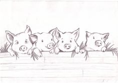 """pinky"" pigs by di1.deviantart.com on @deviantART"