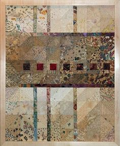 Also nice with small bl and white pics instead of squares.Joan M. Ladendorf's Art Quilt Collection