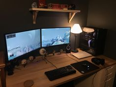 Recent gaming setup update. Any suggestions?