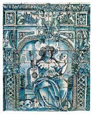 Azulejos: Siglo XVII - Diversificación de los motivos