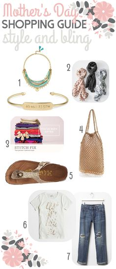 Mother's Day Shopping Guide: Style & Bling | The Shopping Mama
