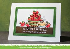 the Lawn Fawn blog: Lawn Fawn Intro: Thanks a Bushel, Cutie Pie