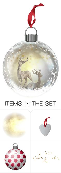 """""""Ornament 04"""" by antoniasalvato ❤ liked on Polyvore featuring art, Christmas and ornament"""