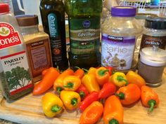 Sweet Mini Peppers: How to Marinate, Grill and Roast to Deliciousness - Vegan American Princess Vegan Lifestyle, Lifestyle Blog, Veggie Dishes, Side Dishes, Stuffed Mini Peppers, Spaghetti Squash Recipes, Healthy Recipes, Healthy Meals, Tapas