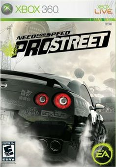 Need for Speed (XBox 360): Prostreet by Electronic Arts #videogames #gamer #xbox #nintendo #playstation
