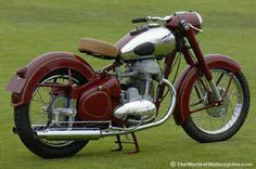 1952 Jawa motorcycle--dad has a Jawa, its my fav!