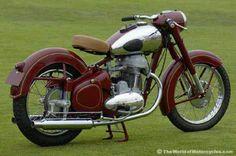 1952 500cc, twin cylinder, 4-stroke Jawa