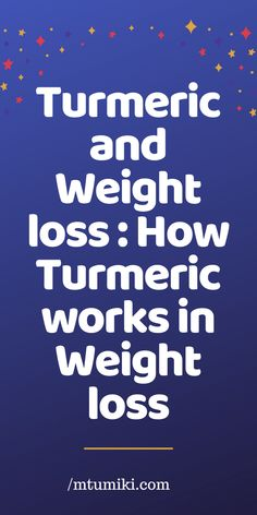 Turmeric is an important spice in Indian and many South Asian cuisines where it has been used for centuries. Turmeric's … Weight Loss Detox, Weight Loss Drinks, Weight Loss Smoothies, Lose Weight, Water Weight, Detox Cleanse Recipes, Detox Tips, Full Body Detox, Detox Your Body