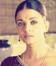 Aishwarya Rai. She's not my type of beautiful but her eyes are remarkable