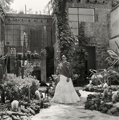 Gisele Freund, Kahlo in Her Garden, 1951