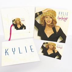Kylie Minogue - Enjoy Yourself: Collector's Edition on Limited Edition Import Picture Disc LP + 2CD + DVD Box Set