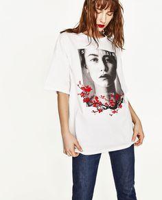Image 2 of GIRL PHOTO T-SHIRT from Zara