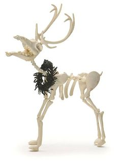 Flying reindeer made by Dr Finklestein in The Nightmare Before Christmas. Could be a Halloween or Christmas decoration. Nightmare Before Christmas Decorations, Nightmare Before Christmas Halloween, Halloween Christmas, Halloween Town, Christmas Themes, Halloween Decorations, Halloween Ideas, Xmas, Tim Burton